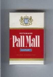 сигареты Pall Mall