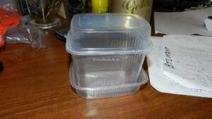контейнер для посева семян табака