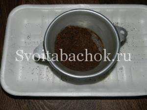 просеивание семян табака