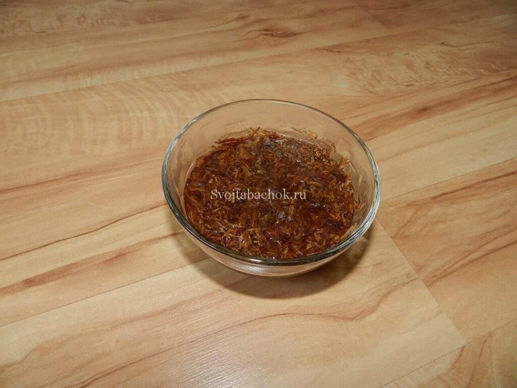 Как сделать кальянный табак в домашних условиях