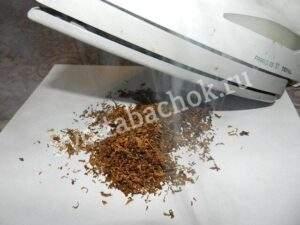Увлажняем табак паром